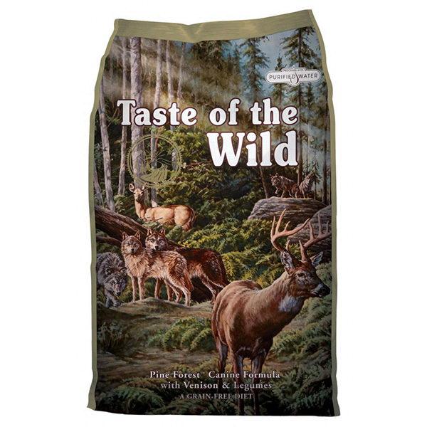 Taste Of The Wild Pine Forest – divjačina in jagnjetina – 13 kg