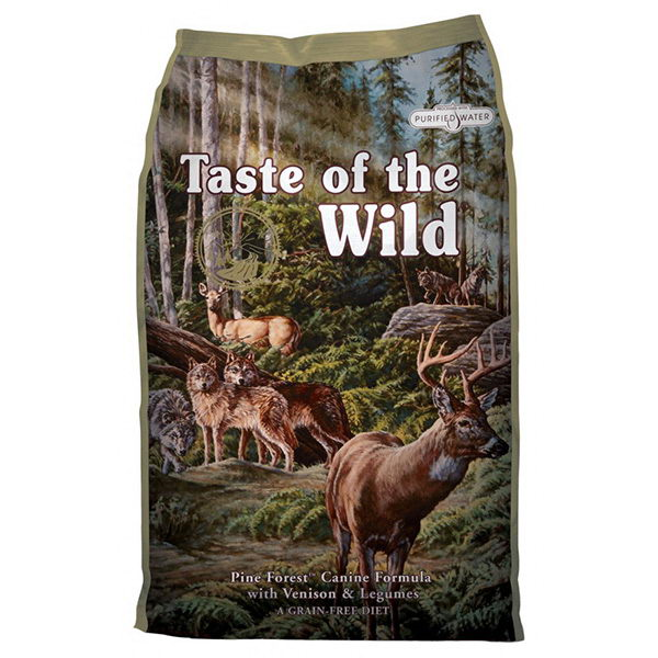 Taste Of The Wild Pine Forest – divjačina in jagnjetina 13 kg