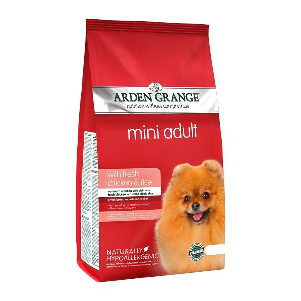 Arden Grange Adult Mini – piščanec in riž 6 kg
