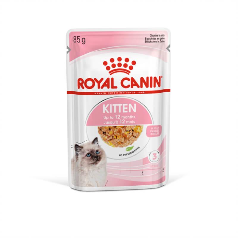 Royal Canin Kitten Instictive - žele- 85 g