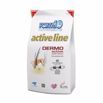 Forza10 veterinarska dieta Dermo Active - 2,72 kg