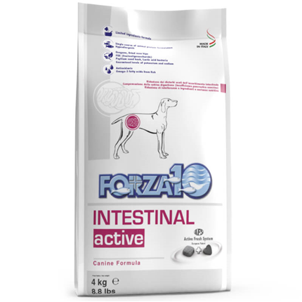 Forza10 veterinarska dieta Intestinal Active - 10 kg