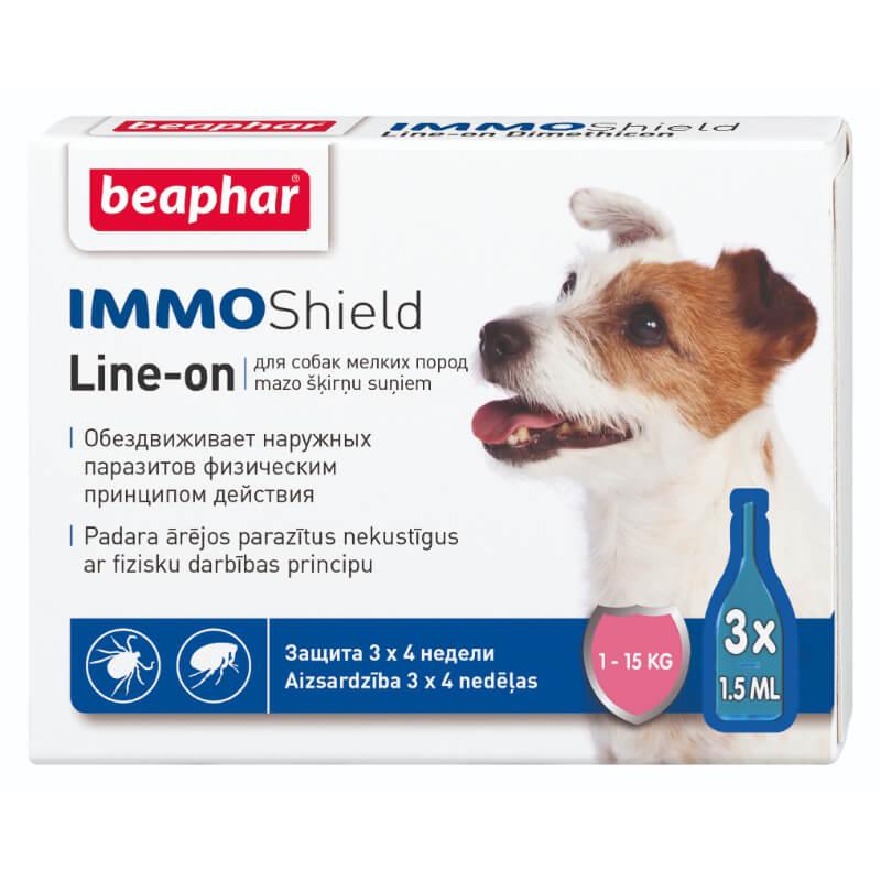 Beaphar zaščita (ampule) S - 3x1,5 ml