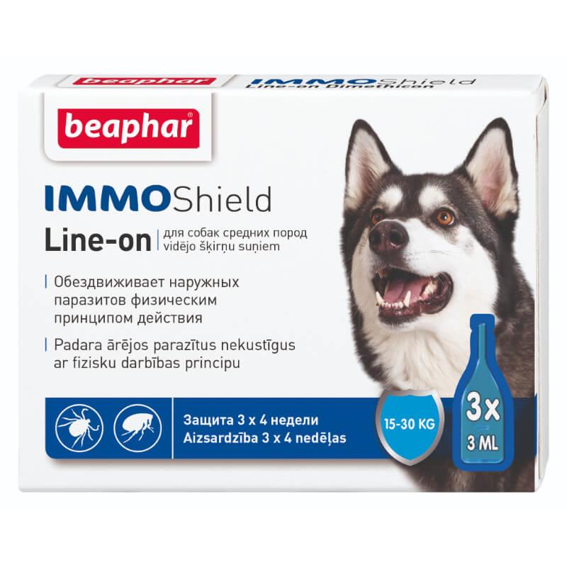 Beaphar zaščita pred paraziti (ampule) M - 3x3 ml
