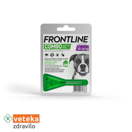 Frontline Combo Spot On za pse L, pipeta - 2,68 ml