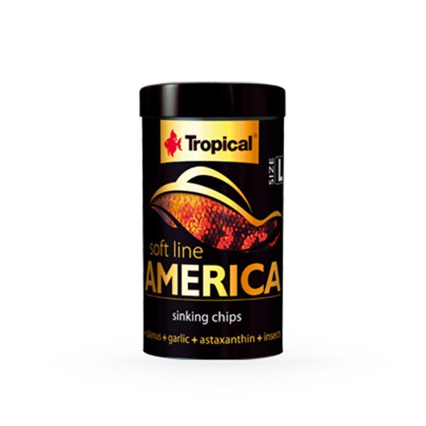 Tropical Soft Line mehka hrana za ribe S. in J. Amerike - 60 g