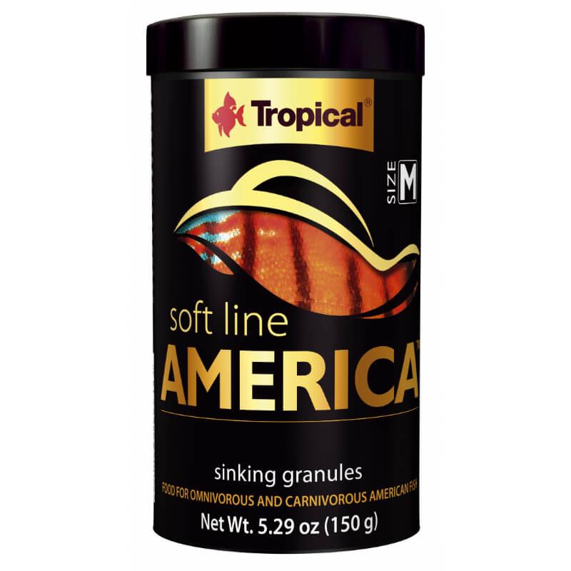 Tropical Soft Line mehka hrana za ribe S. in J. Amerike - 150 g