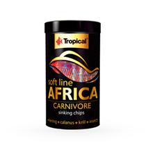 Tropical Soft Line mehka hrana za mesojede afriške ribe - 130 g