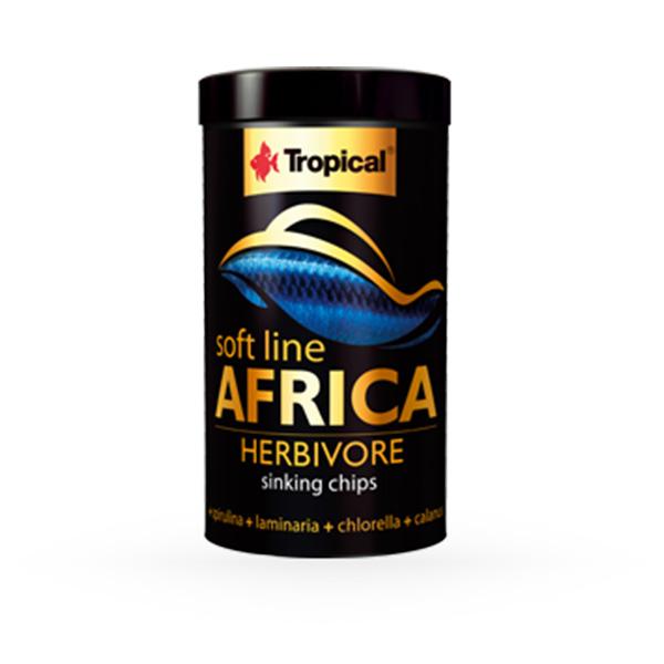 Tropical Soft Line mehka hrana za rastlinojede afriške ribe - 130 g