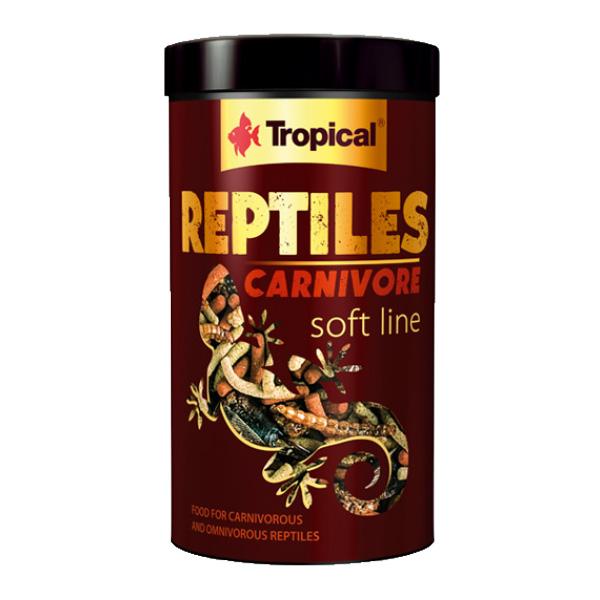 Tropical Soft Line mehka hrana za mesojede kuščarje - 260 g