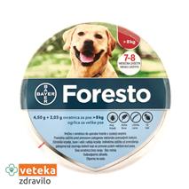 Foresto ovratnica za pse nad 8 kg - 4,50g+2,03g