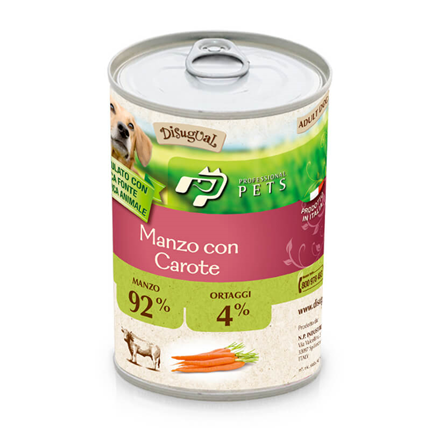 Professional Pets Mono - govedina in korenje - 400 g