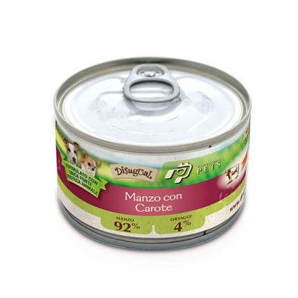 Professional Pets Mono - govedina in korenje - 150 g