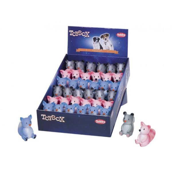 Nobby igrača sedeči mladički iz lateksa – 6,5 – 7,5cm