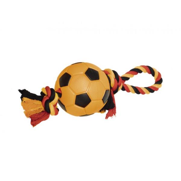 Nobby igrača nogometna žoga z vrvjo – 12,5 cm / 42 cm