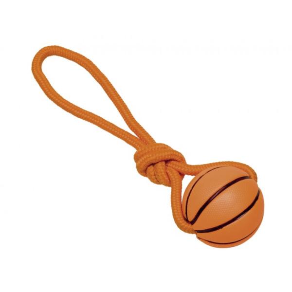 Nobby igrača košarkarska žoga z vrvjo – 7,5 cm / 32 cm