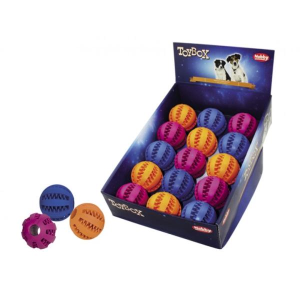 Nobby igrača žoga DENTAL – 7,5 cm