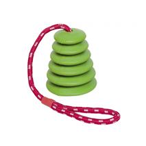 Nobby igralna vrv z zvonom, zelena – 51 cm