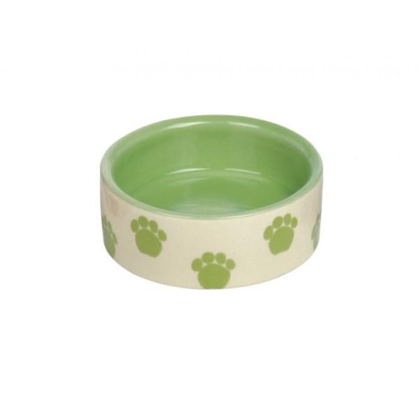 Nobby keramična posodica, 7,5 x 2,5 cm – zelena