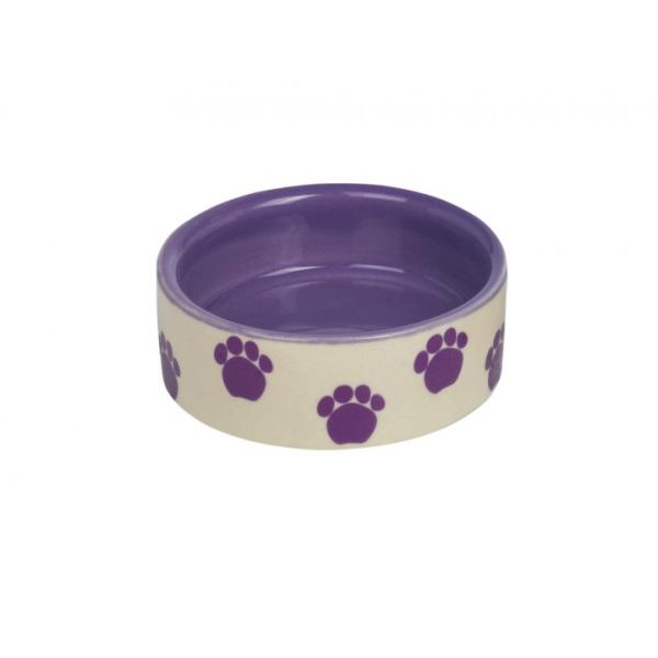 Nobby keramična posodica, 7,5 x 2,5 cm – vijolična