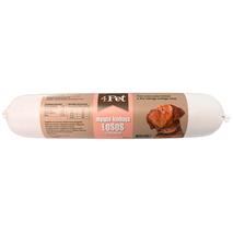 4Pet - mesna klobasa: losos - 800 g