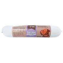 4Pet - mesna klobasa: jagnjetina in piščanec- 800 g