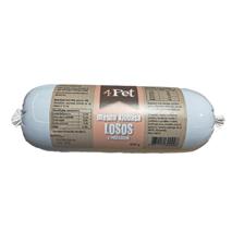 4Pet - mesna klobasa: losos - 400 g
