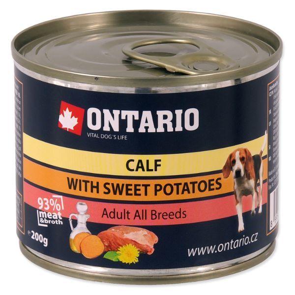 Ontario Adult Mini - teletina in sladek krompir - 200 g