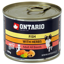 Ontario Adult Mini - tri ribe - 200 g