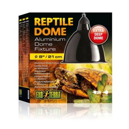 Exo Terra držalo za žarnico z odsevnikom Reptile Dome L (zelo globok)