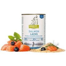 Isegrim River Junior – losos s prosom in borovnicami – 400 g