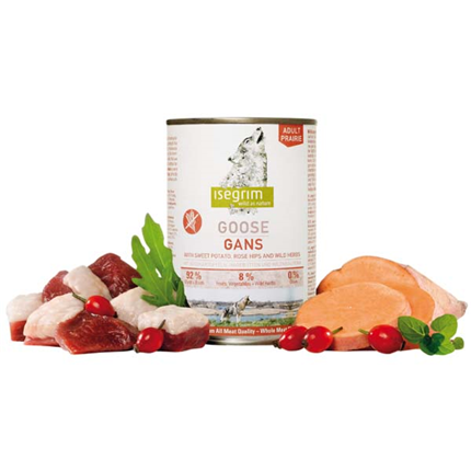 Isegrim Praire Adult – gos s sladkim krompirjem in šipkom – 800 g