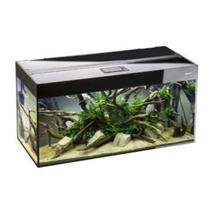 Aquael akvarij Glossy 120 LED, črn - 120 x 40 x 63 cm (260 l)