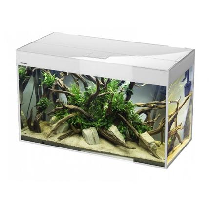 Aquael akvarij Glossy 100 LED, bel - 100 x 40 x 63 cm (215 l)