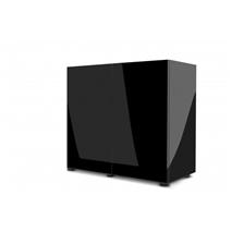 Aquael omarica Glossy 80, črna - 80 x 35 x 70 cm