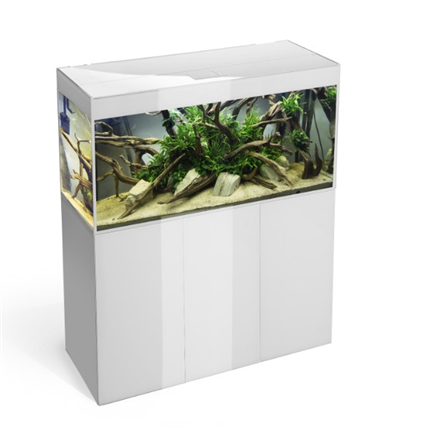Aquael omarica Glossy 100, bela - 100 x 40 x 70 cm