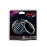 Flexi povodec Design XS, vrvica - 3 m (različne barve)
