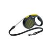 Flexi povodec Design S, vrvica - 5 m (različne barve) rumena