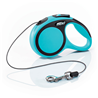 Flexi povodec New Comfort XS, vrvica - 3 m (različne barve) modra