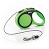 Flexi povodec New Comfort XS, vrvica - 3 m (različne barve) zelena