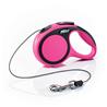 Flexi povodec New Comfort XS, vrvica - 3 m (različne barve) roza