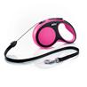 Flexi povodec New Comfort S, vrvica - 8 m (različne barve) roza