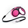 Flexi povodec New Comfort M, vrvica - 5 m (različne barve) roza