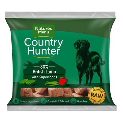 Natures Menu Country Hunter Nugget - britanska jagnjetina - 1 kg - zamrznjeno