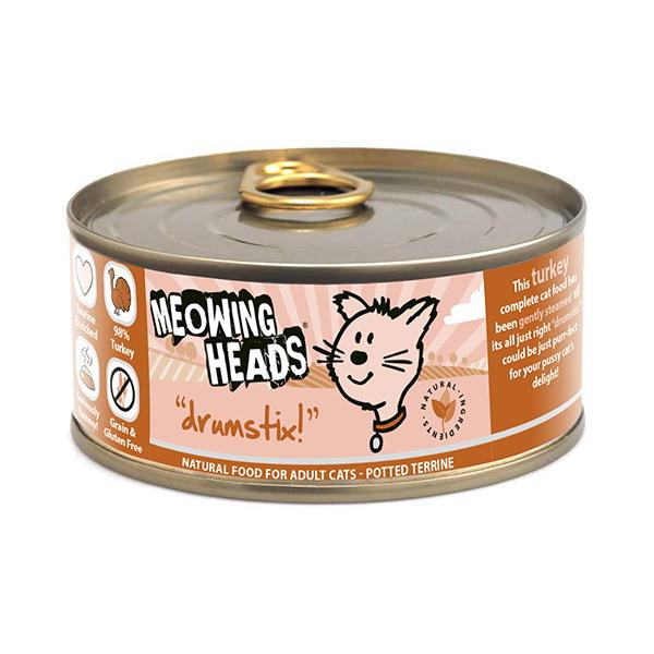 Meowing Heads Drumstix - puran - 100 g