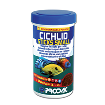 Prodac Cichlid Sticks Small - 250 ml / 90 g