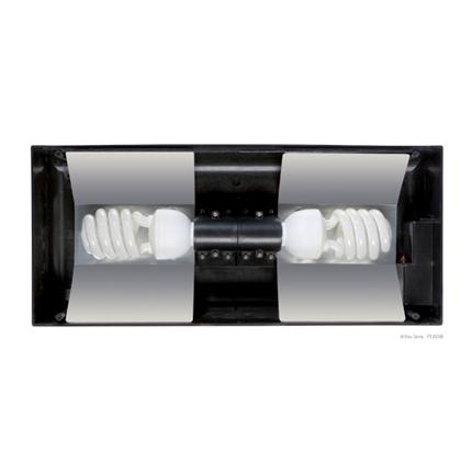 Exo Terra Compact Top, držalo za dve žarnici z odsevniki