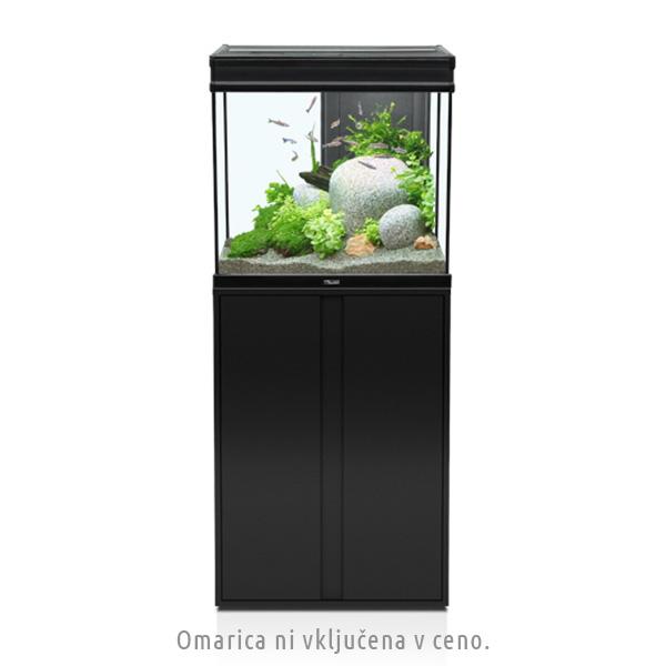 Akvarij Aquatlantis Elegance Expert LED 60 (136 L), bel - 61 x 40,4 x 55 cm
