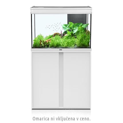 Akvarij Aquatlantis Elegance Expert LED 80 (180 L), bel - 81 x 40,4 x 55 cm