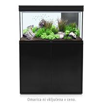Akvarij Aquatlantis Fusion LED 100 (243 L), črn - 102 x 40 x 60 cm
